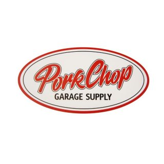 PORKCHOP/PORKCHOP OVAL STICKER/LARGE