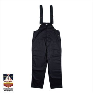 COOKMAN/FISHERMAN'S BIB OVERALL/ブラック