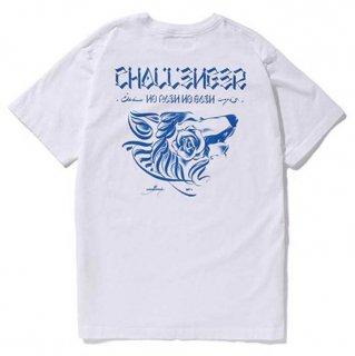CHALLENGER/WOLF TEE/ホワイト
