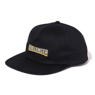 CHALLENGER/COLLEGE LOGO CAP/ブラック