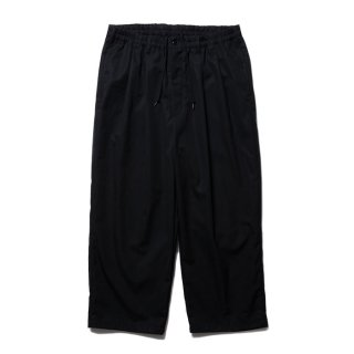 COOTIE/VENTILE 2 TUCK EASY PANTS/ブラック