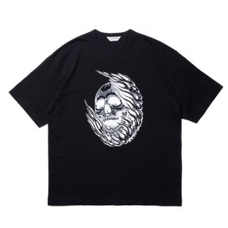 COOTIE/PRINT S/S TEE (MAGICAL DESIGN)/ブラック