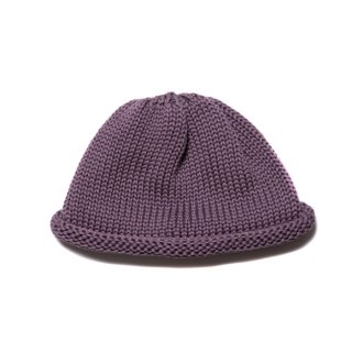 COOTIE/ROLL UP BEANIE/パープル