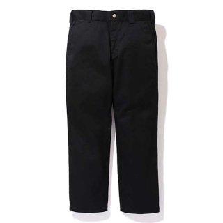 CHALLENGER/NARROW CHINO PANTS/ブラック