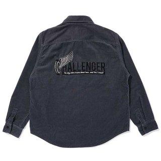CHALLENGER/L/S CORDUROY WORK SHIRT/グレー