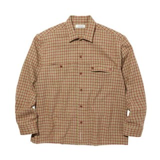 RADIALL/IMPERIAL-OPEN COLLARED SHIRT L/S