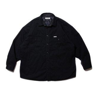 COOTIE/DENIM QUILTING SHIRT JACKET/ブラック