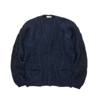 RADIALL/DOWN HOME-CARDIGAN SWEATER L/S/ネイビー