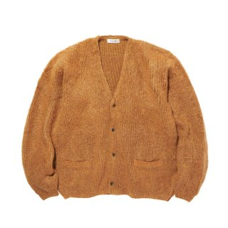 RADIALL/DOWN HOME-CARDIGAN SWEATER L/S/キャメル