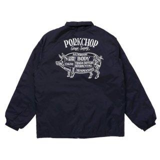 PORKCHOP/BOA COACH JKT/ネイビー