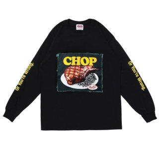 PORKCHOP/CHOP L/S TEE/ブラック