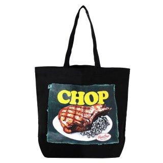 PORKCHOP/CHOP TOTE/ブラック