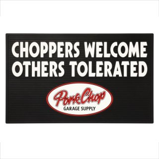 PORKCHOP/WELCOME RUBBER MAT