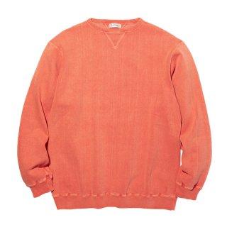 RADIALL/NOVA-CREW NECK SWEATSHIRT L/S/オレンジ
