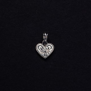 ANTIDOTE/ENGRAVED HEART PENDANT