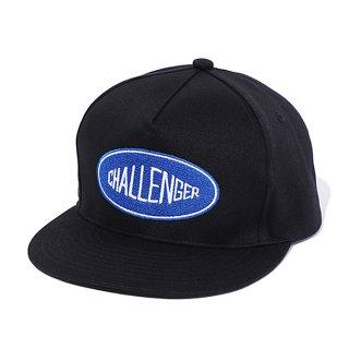 CHALLENGER/LOGO TWILL CAP/ブラック