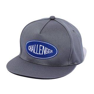 CHALLENGER/LOGO TWILL CAP/グレー