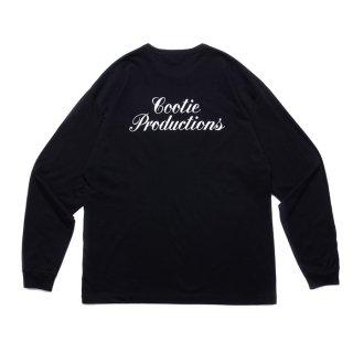 COOTIE/PRINT L/S TEE/ブラック