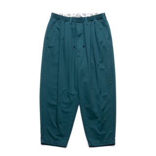 COOTIE/T/C 2 TUCK EASY PANTS/グリーン