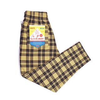 COOKMAN/CHEF PANTS/TARTAN BEIGE