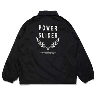 CHALLENGER/POWER SLIDER COACH JACKET/ブラック