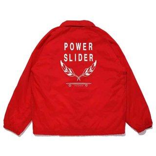 CHALLENGER/POWER SLIDER COACH JACKET/レッド