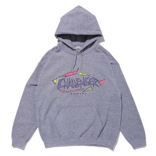 <img class='new_mark_img1' src='https://img.shop-pro.jp/img/new/icons8.gif' style='border:none;display:inline;margin:0px;padding:0px;width:auto;' />CHALLENGER/SHARK LOGO HOODIE/グレー