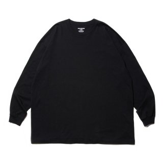 COOTIE/OPEN END YARN ERROR FIT L/S TEE/ブラック