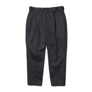 COOTIE/T/C TUCK TROUSERS/ブラック