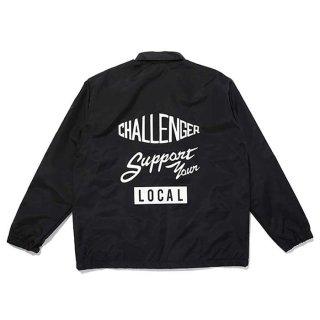 CHALLENGER/NYLON PRINTED SWING TOP/ブラック
