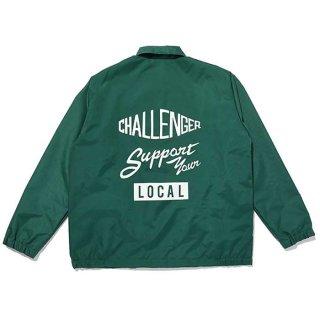 CHALLENGER/NYLON PRINTED SWING TOP/グリーン