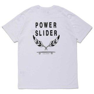CHALLENGER/POWER SLIDER TEE/ホワイト