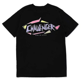 <img class='new_mark_img1' src='https://img.shop-pro.jp/img/new/icons8.gif' style='border:none;display:inline;margin:0px;padding:0px;width:auto;' />CHALLENGER/SHARK LOGO TEE/ブラック