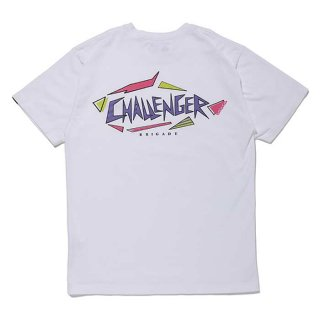 <img class='new_mark_img1' src='https://img.shop-pro.jp/img/new/icons8.gif' style='border:none;display:inline;margin:0px;padding:0px;width:auto;' />CHALLENGER/SHARK LOGO TEE/ホワイト