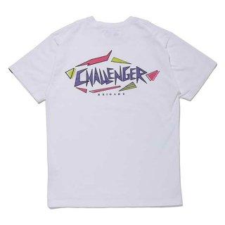 CHALLENGER/SHARK LOGO TEE/ホワイト