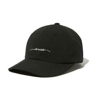 RADIALL/LO-N-SLO-BASEBALL LOW CAP/ブラック