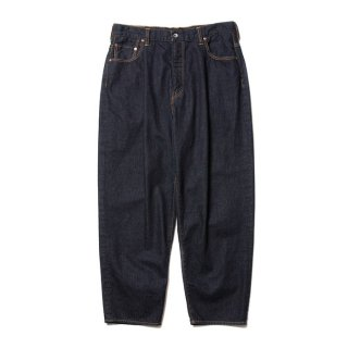 <img class='new_mark_img1' src='https://img.shop-pro.jp/img/new/icons8.gif' style='border:none;display:inline;margin:0px;padding:0px;width:auto;' />COOTIE/RAZA 1 TUCK DENIM PANTS/インディゴ