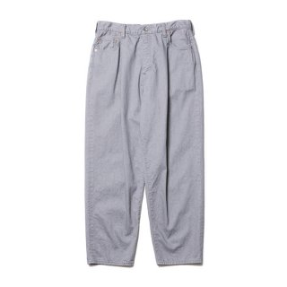 <img class='new_mark_img1' src='https://img.shop-pro.jp/img/new/icons8.gif' style='border:none;display:inline;margin:0px;padding:0px;width:auto;' />COOTIE/RAZA 1 TUCK DENIM PANTS/グレー