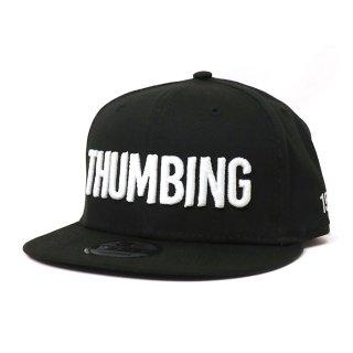 THUMBING/15TH N-E CAP/ブラック/送料無料