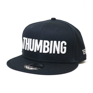 THUMBING/15TH N-E CAP/ネイビー/送料無料