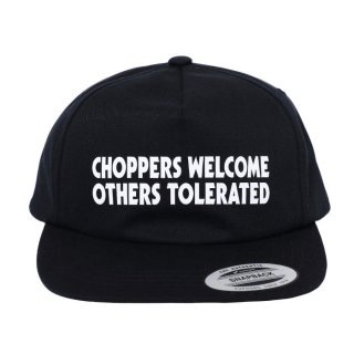 PORKCHOP/CHOPPERS WELCOME CAP/ブラック