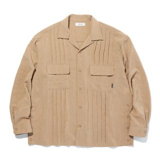 <img class='new_mark_img1' src='https://img.shop-pro.jp/img/new/icons8.gif' style='border:none;display:inline;margin:0px;padding:0px;width:auto;' />RADIALL/MONTE CALRO-OPEN COLLARED SHIRT L/S/ベージュ