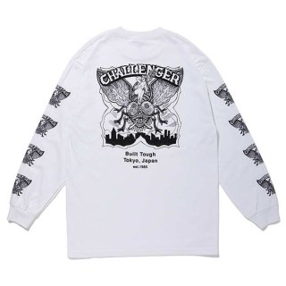 CHALLENGER/FLY L/S TEE/ホワイト