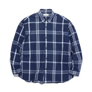 RADIALL/CIVIC-REGULAR COLLARED SHIRT L/S/ネイビー【20%OFF】<img class='new_mark_img2' src='https://img.shop-pro.jp/img/new/icons20.gif' style='border:none;display:inline;margin:0px;padding:0px;width:auto;' />