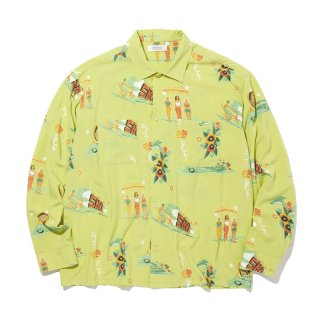 RADIALL/LOWLOW-OPEN COLLARED SHIRT L/S/イエロー【20%OFF】<img class='new_mark_img2' src='https://img.shop-pro.jp/img/new/icons20.gif' style='border:none;display:inline;margin:0px;padding:0px;width:auto;' />