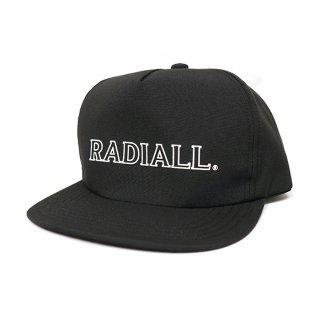 RADIALL/OUTLINE-TRUCKER CAP/ブラック
