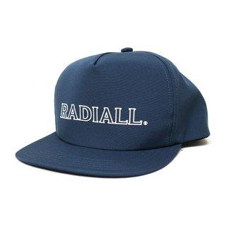 RADIALL/OUTLINE-TRUCKER CAP/ネイビー