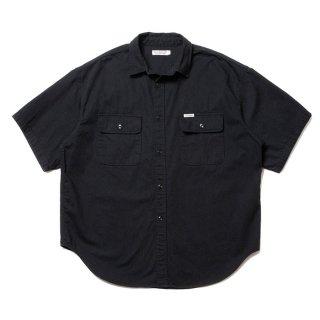 COOTIE/ERROR FIT DENIM WORK SHIRT/ブラック