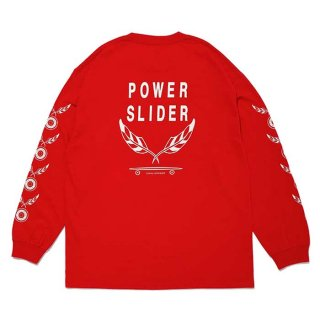 CHALLENGER/L/S POWER SLIDER TEE/レッド