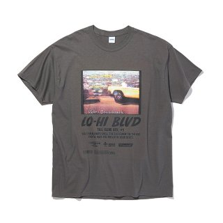 <img class='new_mark_img1' src='https://img.shop-pro.jp/img/new/icons8.gif' style='border:none;display:inline;margin:0px;padding:0px;width:auto;' />RADIALL/LO-HI-CREW NECK T-SHIRT S/S/チャコール